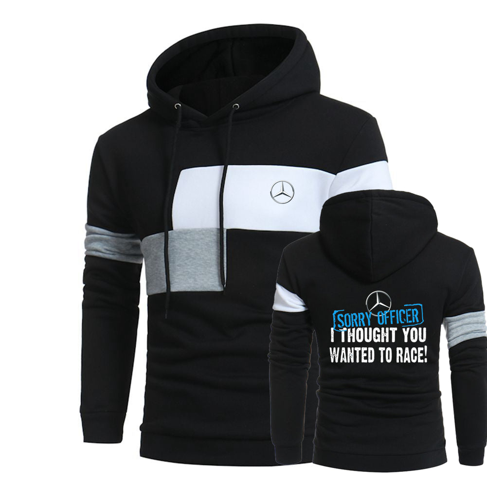 M.E.R.C.E.D.E.S RACE HOODED SPORT SWEATSHIRT