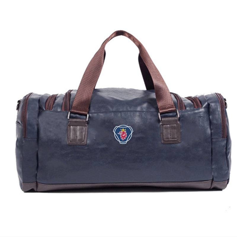LARGE S.C.A.N.I.A TRAVEL SHOULDER BAG