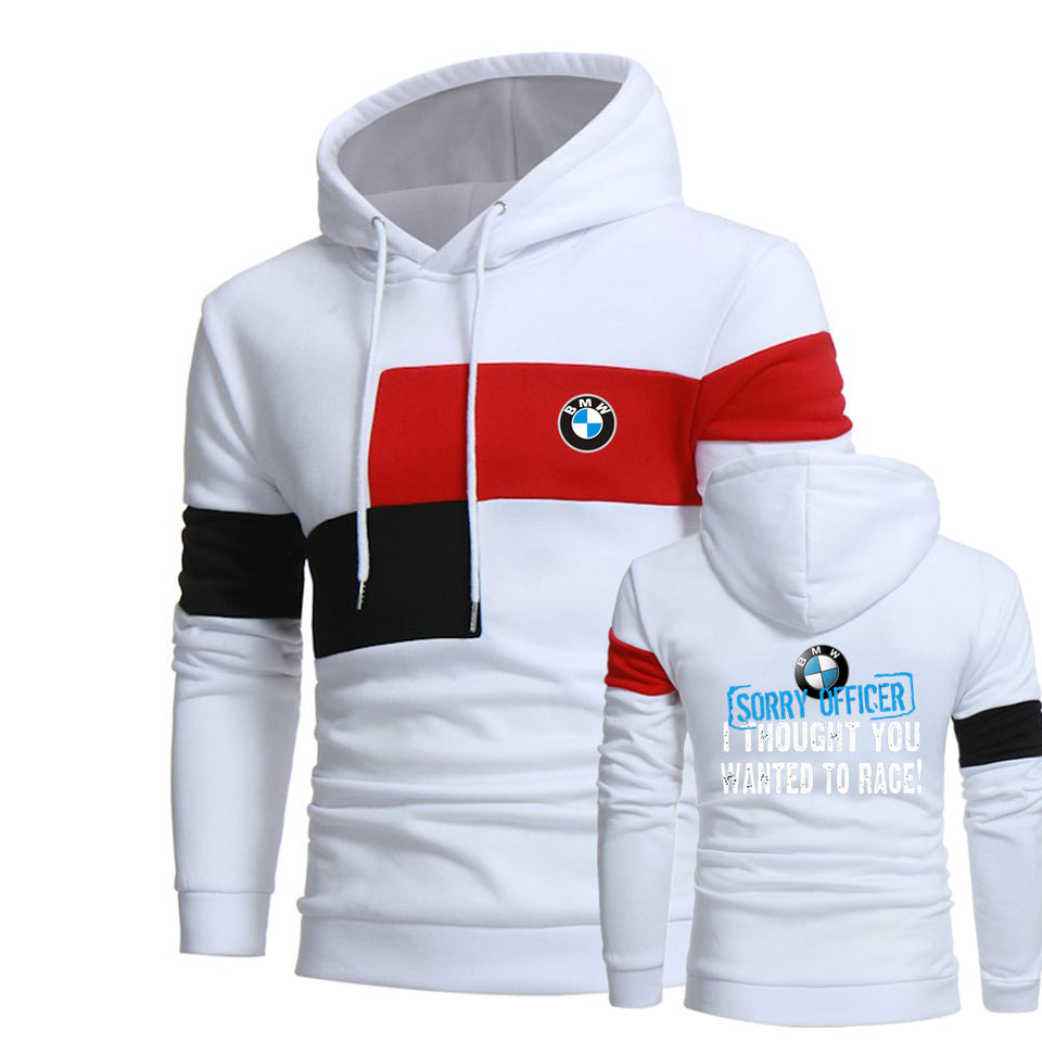 B.M.W RACE HOODED SPORT SWEATSHIRT