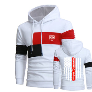 D.O.D.G.E HOODED SPORT SWEATSHIRT
