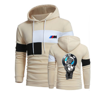B.M.W HOODED SPORT SWEATSHIRT