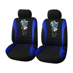 B.M.W LOVE SPORT CAR SEAT COVERS