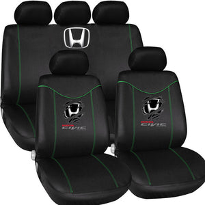 H.O.N.D.A C.I.V.I.C LOVE CASUAL CAR SEAT COVERS