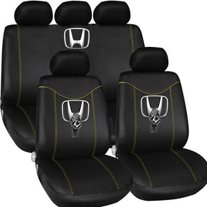 H.O.N.D.A LOVE CASUAL CAR SEAT COVERS