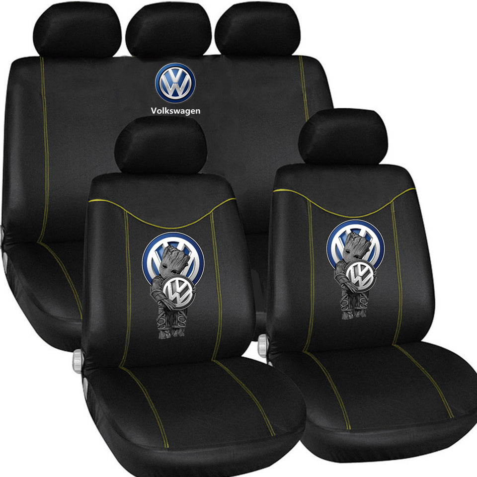 VW LOVE CASUAL CAR SEAT COVERS