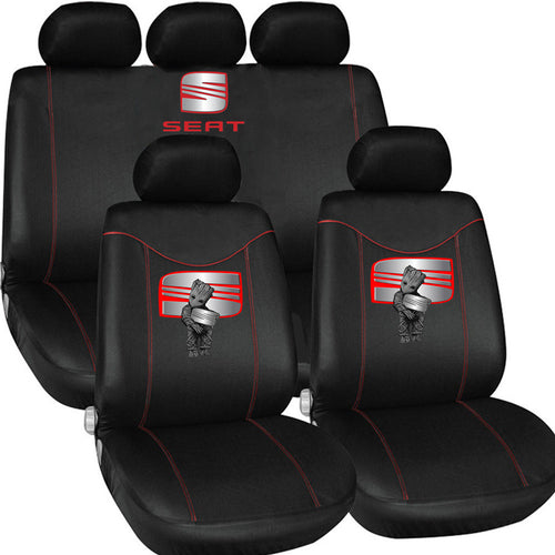 S.E.A.T LOVE CASUAL CAR SEAT COVERS