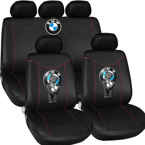 B.M.W LOVE CASUAL CAR SEAT COVERS