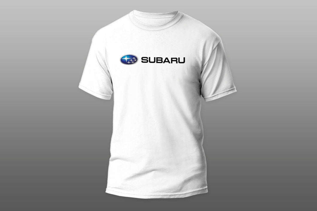 Subaru car logo sign T-shirt