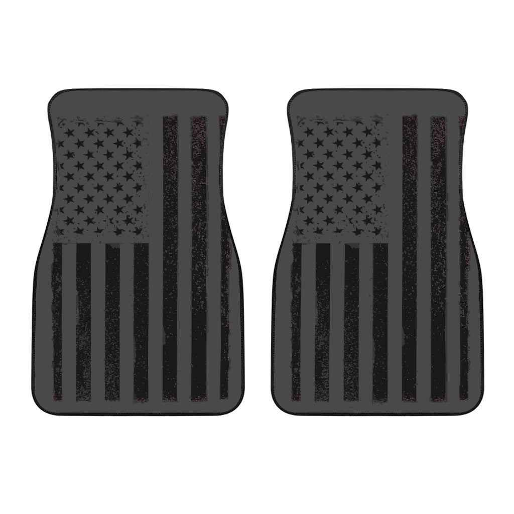 USA Flag Front Car Mats