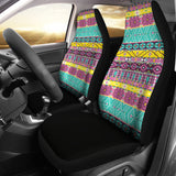 Boho Art Car Seat Covers