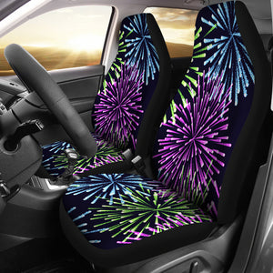 Fireworks Car Seat Covers