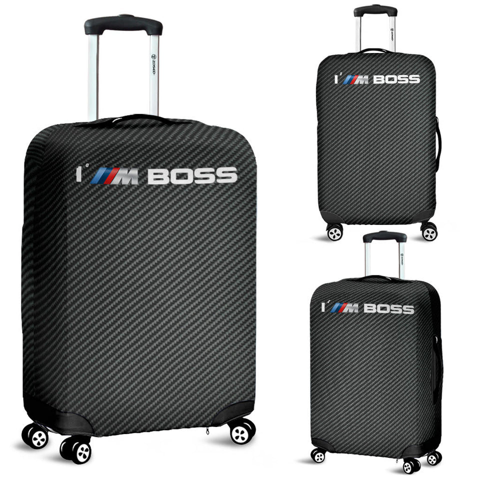 I'M Boss Carbon Fiber Suitcase Cover