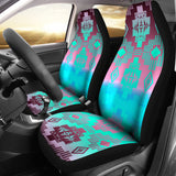 Pretty Sunset Clouds Car Seat Covers