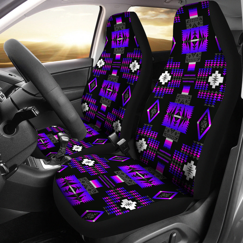 Midnight Purple Car Seat Covers