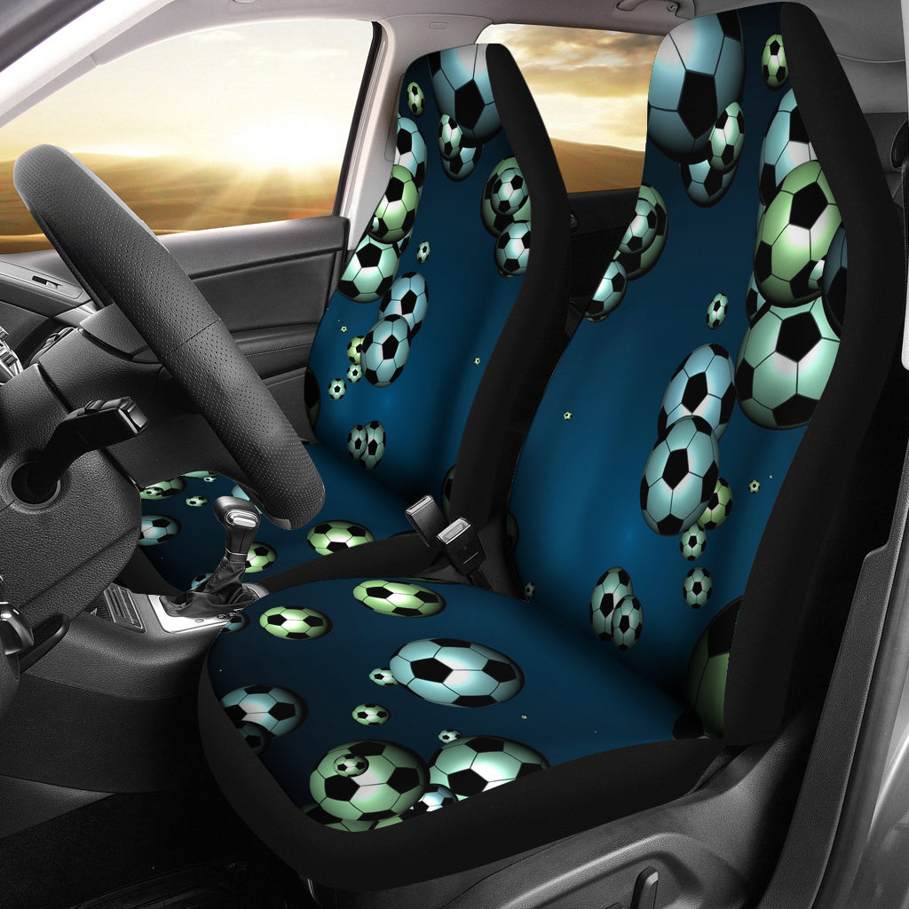Floating Soccer Car Seat Cover
