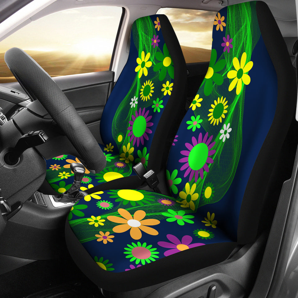 Flower Power Car Seat Cover