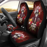 Calavera Girl Car Seat Covers
