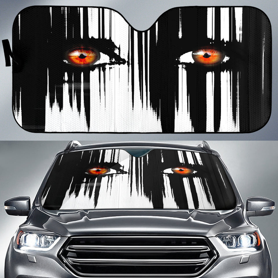 Auto Sunshade - Be Afraid!