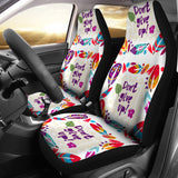 Don't Give Up Car Seat Covers