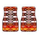 Psychedelic Front Car Mats (Set Of 2)