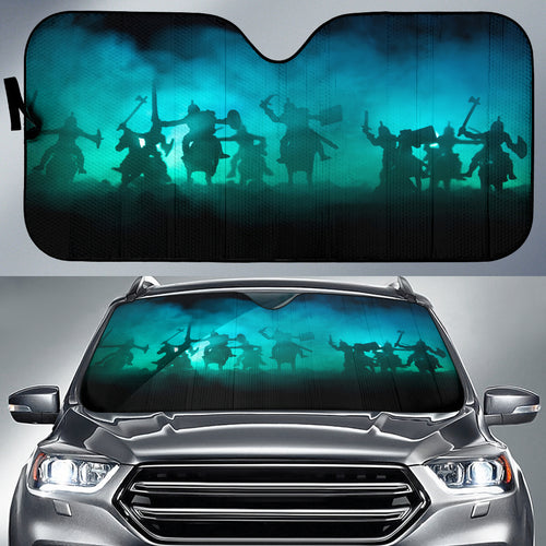 Medieval Battle Scene Sun Shade