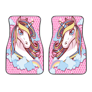 Unicorn Lovers Front Car Mats (Set Of 2)