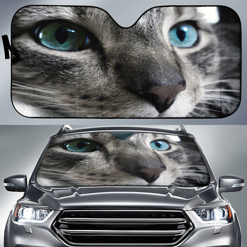 Blue Eyed Cat Sun Shade