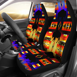 Seven Tribes Buffalo Horizon Car Seat Covers
