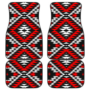 Taos Wool Front And Back Car Mats (Set Of 4)