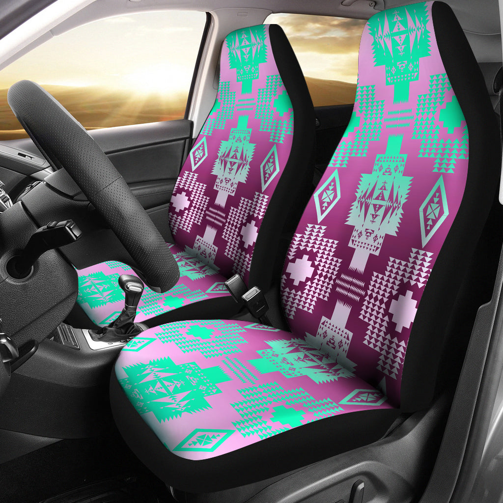 Fluffy Clouds  Set of 2 Car Seat Covers