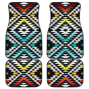 Taos Sunrise Front And Back Car Mats (Set Of 4)