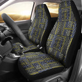 African Tribal Car Seat Covers