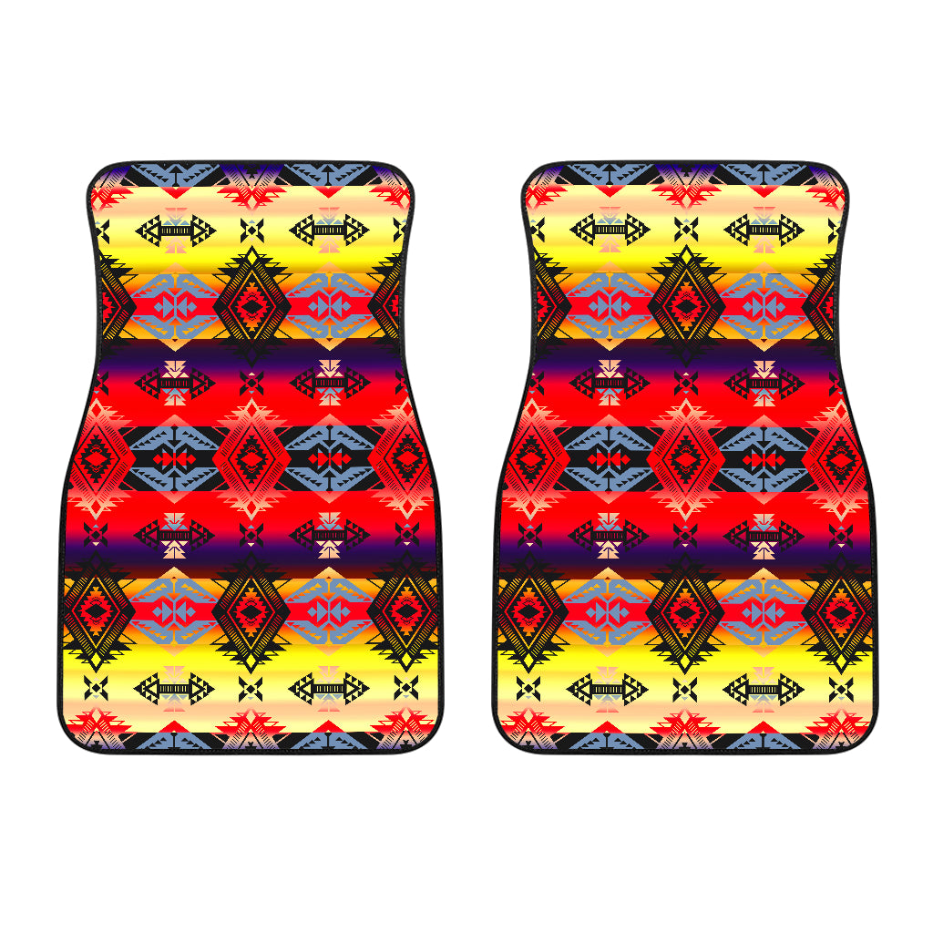 Sovereign Nation Mountain Front Car Mats (Set Of 2)