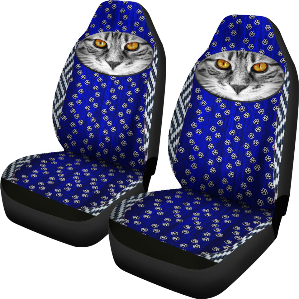 Cat & Paws Car Seat Covers