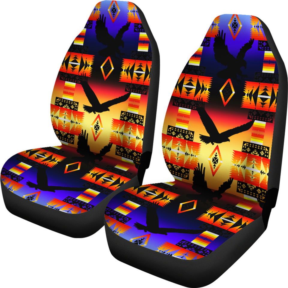 Seven Tribes Eagle Horizon Car Seat Covers
