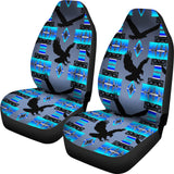 Eagle Midnight Lake Car Seat Covers