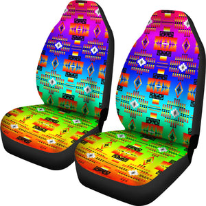 Seven Tribes Rainbow Car Seat Covers