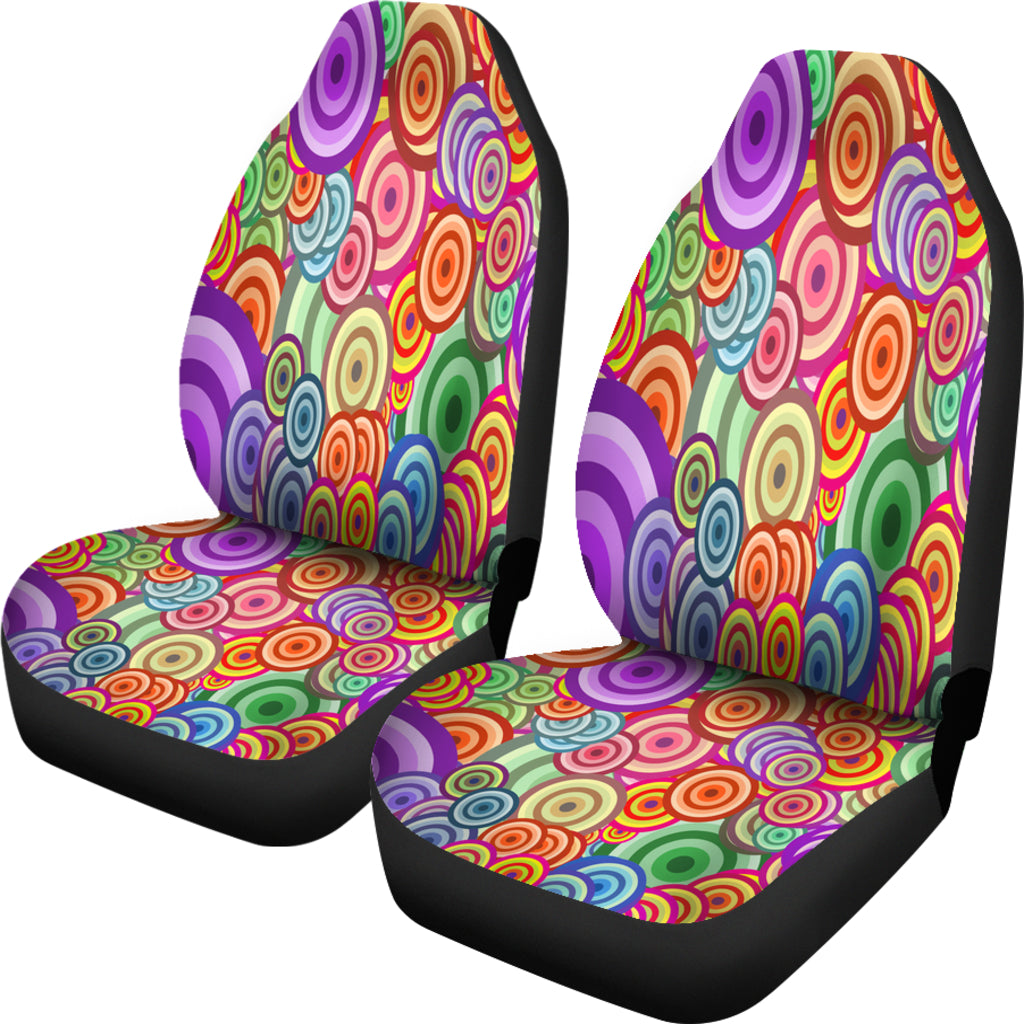 Retro Colours Car Seat Covers
