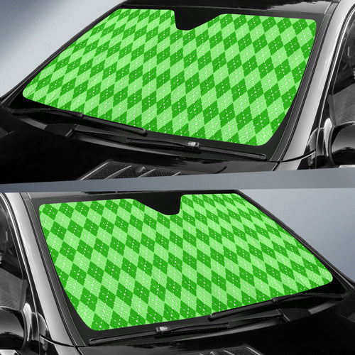 St Patricks Day Auto Sun Shade