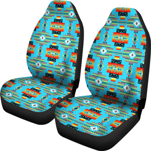 Seven Tribes Turquoise Car Seat Covers