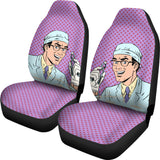 Dental Hygienist Car Seat Covers