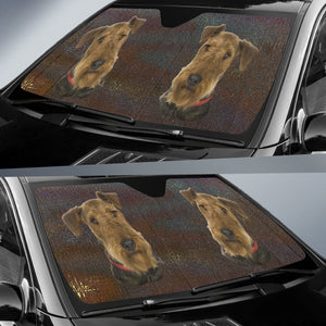 Welsh Terrier Auto Sun Shade