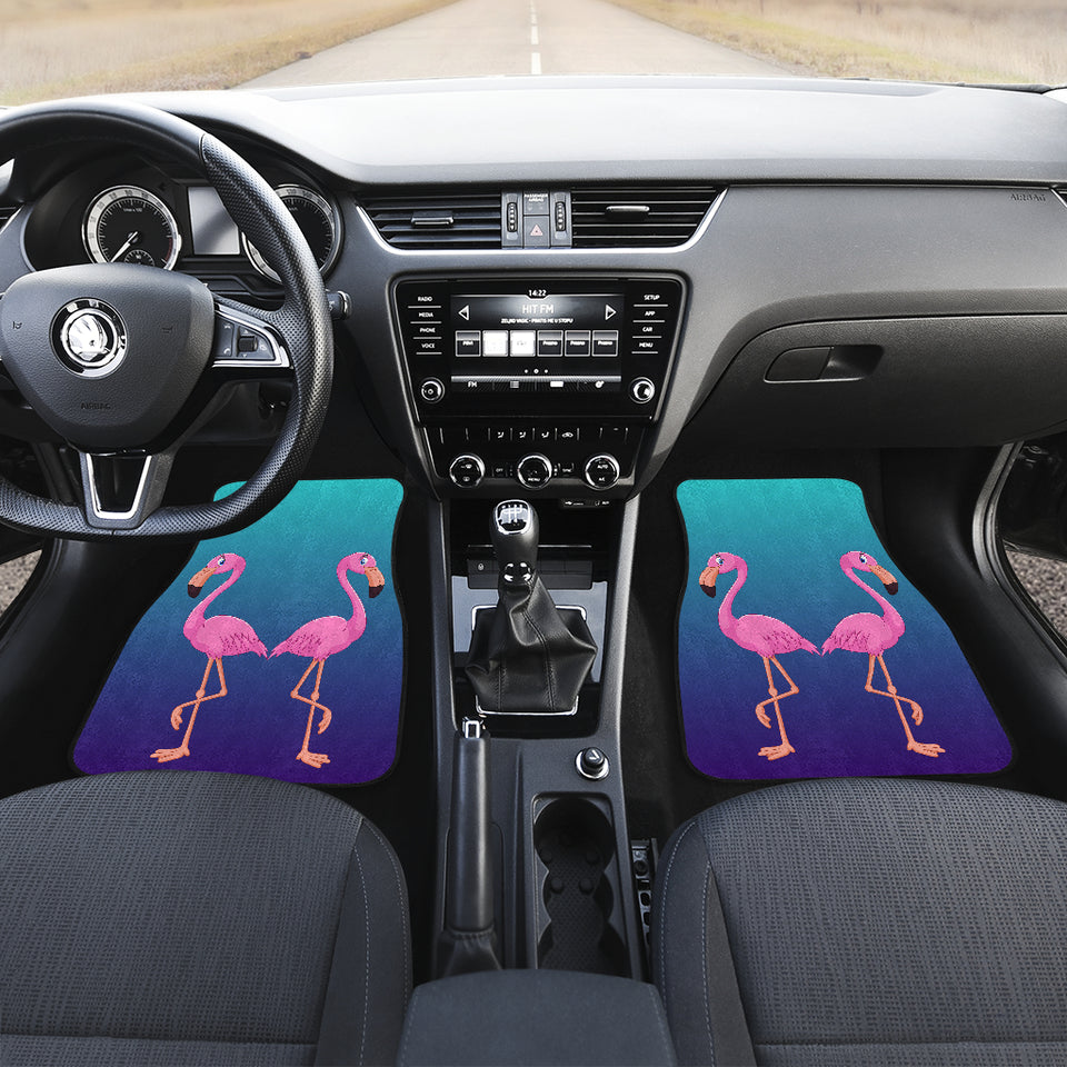 Flamingo Car Floor Mats