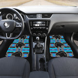 Gray Thunderbear Midnight Lake Front Car Mats (Set Of 2)