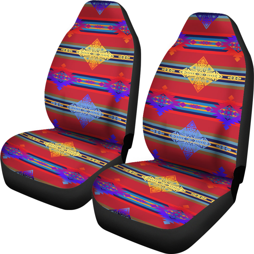 Plateau Gathering Set of 2 Car Seat Covers