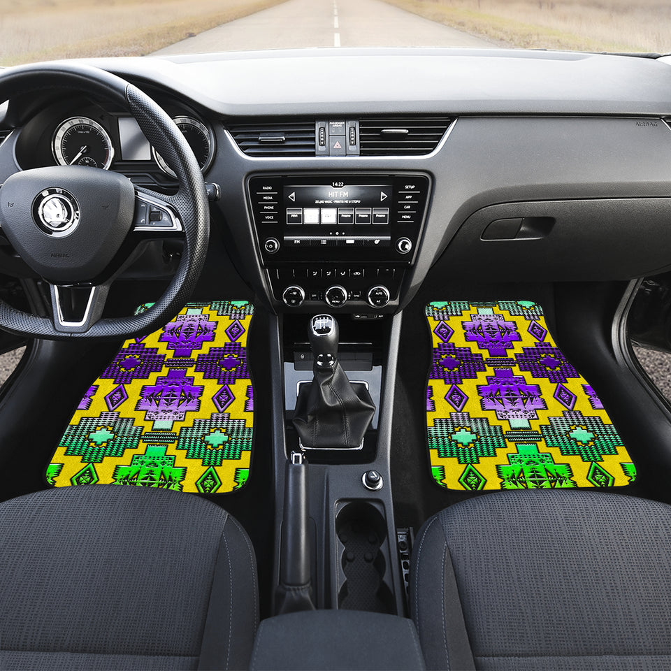 Bird Clan  Front And Back Car Mats (Set Of 4)