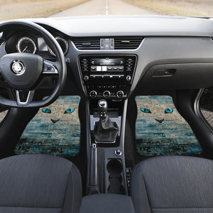 Cat eyes Car Floor Mat