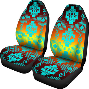 Canyon Turquoise Car Seat Covers