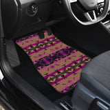 Between the Mountains Berry Set of 2 Car Mats