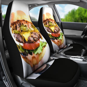 Burger Lovers Car Seat Covers